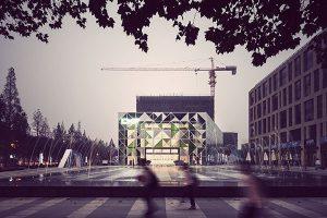 中国青岛广告产业园和售楼中心